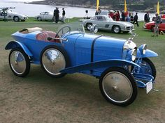 Amilcar CG3S Boat Tail (1924) a Petit Sport with staggered seating for two, achieved success in hill climbs, with body by the Kellner Coachbuilding Company