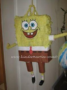 Anleitung für Spongebob Pinata