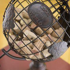 wine cork holder barrel