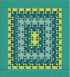 Scrapbox Quilts: Blooming 9-Patch Quilt Along