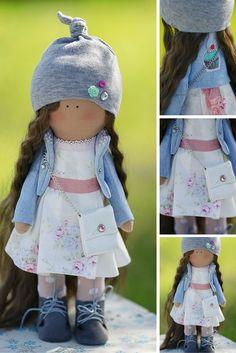 Tilda doll handmade, art doll, baby doll, textile doll, fabric doll, cloth doll…