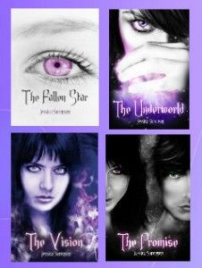 The Fallen Star series by Jessica Sorensen: http://thereadingcafe.com/jessica-sorensen-interview-with-the-author/#