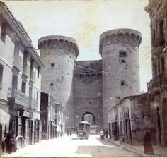 Torres de Cuart. Entrada a Valencia.1868