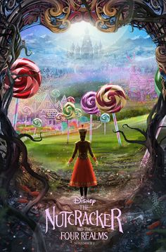The Nutcracker and the Four Realms is an upcoming American fantasy drama film directed by Lasse Hallström and Joe Johnston (fr=Casse-Noisette et les Quatre Royaumes) Disney Films, Disney Movie Posters, Disney Wiki, Teen Movies, Netflix Movies, Indie Movies, Comedy Movies, Nutcracker Movie, Night Film
