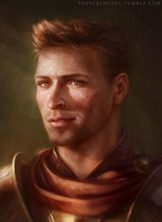 TheRealMcgee Art • King Alistair Theirin, Beautiful Cinnamon Roll