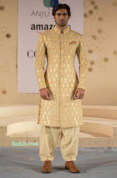 Anju Modi at Amazon India Couture Week 2015 | thedelhibride Indian Weddings blog
