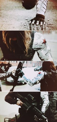 Winter Soldier: You know how the game works. Disorder, war… all it takes is one step.