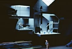 Pelléas et Mélisande at De Nederlandse Opera. Directed by Peter Sellars. Sets by George Tsypin.