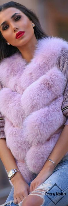Fox Fur // Fashion Look by Nadine Abdel Aziz
