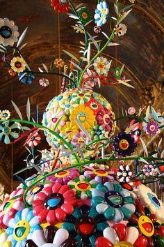 Takashi Murakami - Flower Matango - Versailles