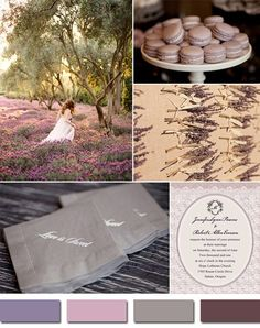 """shades of puruple mauve wedding color ideas for fall//Use coupon code """"CVB"""" to get 10% off towards all the invitations."""