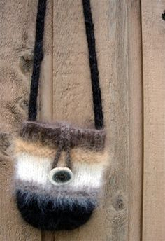 Handspun Dog Hair Shoulder Bag by EntwinedSpirits on Etsy