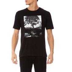 Bill Gates & Warren Buffet T-Shirt Black Available On http://www.brandalley.fr/FSMarque/Id-16790-Produit-0