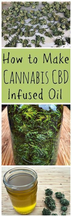 Cannabis is becoming legal in more and more states! Here is how to make a healing CBD infused oil.