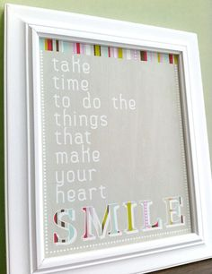 take time ...