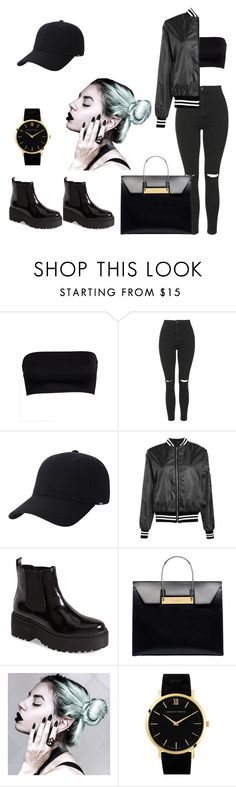 """freaky love"" by trap-queen-jay ❤ liked on Polyvore featuring Topshop, Keds, Boohoo, Jeffrey Campbell, Balenciaga and Larsson & Jennings"