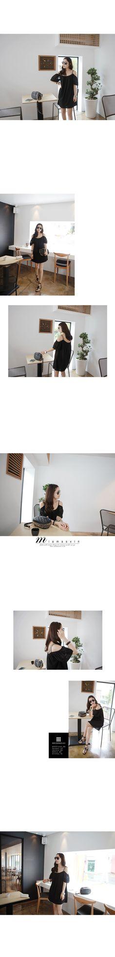 Korean Fashion, Korean Clothing / Black Dress : )  By Miamasvin / #Miamasvin, #Stylenanda, #dholic