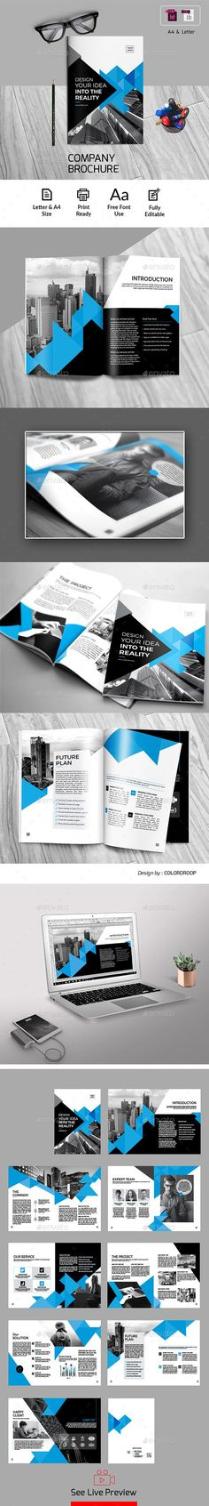 27 Best Free Brochure Templates Images Free Brochure Brochure
