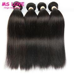 $90.00 (Buy here: https://alitems.com/g/1e8d114494ebda23ff8b16525dc3e8/?i=5&ulp=https%3A%2F%2Fwww.aliexpress.com%2Fitem%2FBrazilian-Hair-Weave-4-Bundles-7A-Ms-Lula-Brazilian-Virgin-Hair-Straight-Cheap-Unprocessed-Human-Hair%2F32575063815.html ) Ivy Beauty Hair Brazilian Hair Weave Bundles 7A Brazilian Virgin Hair Straight 4 pcs lot Cheap Unprocessed Human Hair Weave for just $90.00