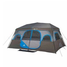 Ozark Trail 14' x 10' Instant Cabin Tent Sleeps 10 People Outdoor Camping - http://familycampingtents.ellprint.com/ozark-trail-14-x-10-instant-cabin-tent-sleeps-10-people-outdoor-camping/