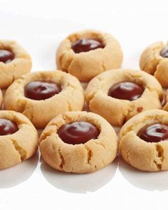 Christmas Cookie Recipes: Chocolate Thumbprints