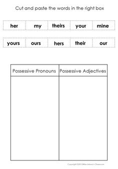 Nominative Pronouns | C2 Week 4 | Pinterest | Activities ...