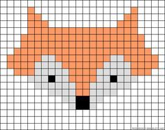 46 Ideas For Knitting Charts Fox Perler Beads Knitting Charts, Baby Knitting Patterns, Knitting Stitches, Knitting Ideas, Pixel Pattern, Fox Pattern, Hama Beads Patterns, Beading Patterns, Bracelet Patterns