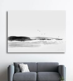 By Dan Hobday Art Black And White Wall Art, Black And White Abstract, Kitchen Posters, Fine Art Prints, Framed Prints, Sand And Water, Frame Template, Seascape Paintings, Kitchen Art