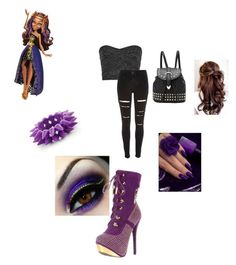 """""""Clawdeen Wolf"""" by ami-kesinger on Polyvore featuring Giuseppe Zanotti and River Island"""