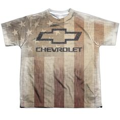 "Checkout our #LicensedGear products FREE SHIPPING + 10% OFF Coupon Code ""Official"" Chevy/american Pride-s/s Youth Poly T- Shirt - Chevy/american Pride-s/s Youth Poly T- Shirt - Price: $24.99. Buy now at https://officiallylicensedgear.com/chevy-american-pride-s-youth-poly-shirt-licensed"