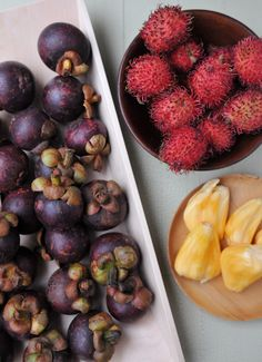 Snacking on Tropical Fruits: Part Two - Rachel Cooks Thai