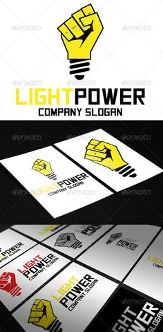 Light Power Logo  #GraphicRiver         Light Power Logo is :  	 -Print ready (CMYK) -Easy edit ; Text & Color -Free font used -100% Vectors - Ai & EPS     Created: 4September13 GraphicsFilesIncluded: VectorEPS #AIIllustrator Layered: No MinimumAdobeCSVersion: CS5 Resolution: Resizable Tags: bulb #electric #electrical #electrician #electricity #force #illuminated #lamp #light #lighting #power #yellow