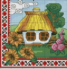 Хатка- лето | biser.info - всё о бисере и бисерном творчестве