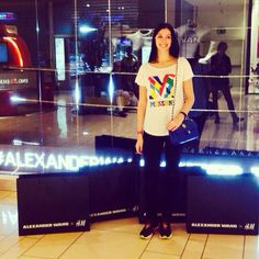 Alexander wang x h&m #marilenaguadalaxara