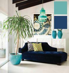 Blanco y Azul en la Decoración | Ideas para decorar, diseñar y mejorar tu casa.