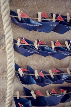 these would have been cute at our wedding! Nautical Wedding Theme, Nautical Party, Portuguese Wedding, Boat Theme, Celebrate Good Times, Seating Chart Wedding, Wedding Rehearsal, Wedding Crafts, Wedding Reception Decorations