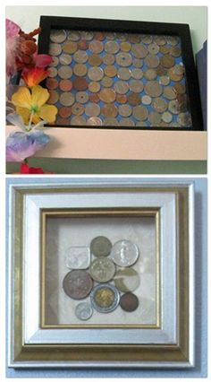 Good Questions: Help Me Use My Coins and Foreign Bills to Decorate! | Apartment Therapy