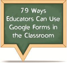 Google Forms is a fantastic tool that enables us to create surveys, track data, share compilations of our students' creative work and the list goes on and on.