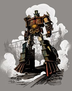 RPG, manga , quadrinhos , cultura em geral: Steampunk