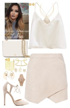 """Untitled #671"" by kaitlynstoll on Polyvore featuring BCBGMAXAZRIA, Charlotte Russe, Carolina Bucci, Tory Burch, Burberry, Lana, BaubleBar, Noor Fares, fashionhoroscope and stylehoroscope"