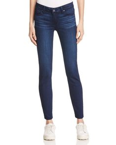 Paige Skyline Ankle Peg Jeans in Salma