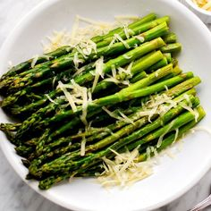 Parmesan Roasted Asparagus - This easy and elegant side dish is perfect for spring entertaining.