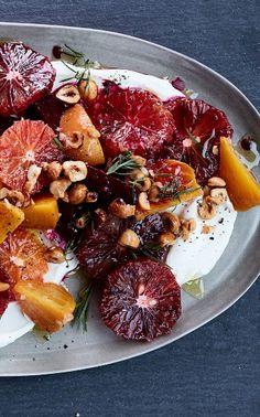 blood orange and roasted beet #salad recipe, via @goop