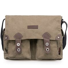 Amazon.com: Douguyan Unisex Messenger Bag Fashionable and Best Style Backpack for Men and Women Brown 43608: Computers & Accessories