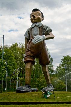 One of Jim Dine's Pinocchio