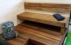 Saunagalleria I SUN SAUNA Oy I Ideoita saunaremonttiin, saunaideat Entryway Bench, Dining Bench, Steam Sauna, Saunas, View Image, Type, Furniture, Home Decor, Entry Bench