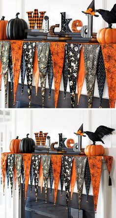 As you're swapping your rompers and tank tops for jeans and sweaters, you should likewise consider giving your makeup a refresh with these Fall . Halloween Mantel, Halloween Yard Decorations, Halloween Home Decor, Halloween House, Easy Halloween, Holidays Halloween, Halloween Themes, Halloween Crafts, Halloween Witches