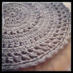 My first crochet rug
