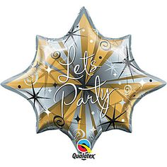 Let's Party Mylar Balloon