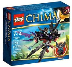 New from LEGO for 2013. LEGO CHIMA sets.